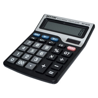 Calculadora Digital Beston De 12 Dígitos, Bst-9633b