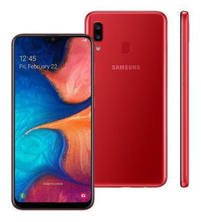 Celular Samsung Galaxy A20 Duos Tela 6.4 32gb Vermelho