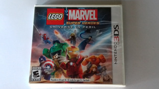 Lego Marvel Super Heroes Universe In Peril 3ds Y 2ds