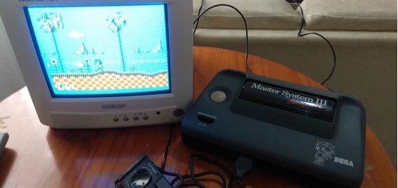 Master System 3 Sonic Na Memoria
