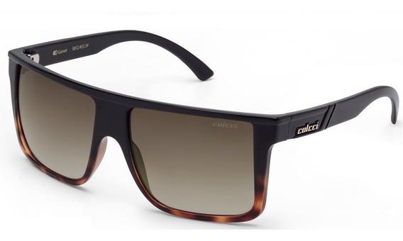 Oculos Solar Colcci Garnet 5012a5334 Preto Degradê Marrom