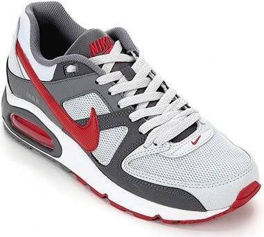 Nike Air Max Command Vermelho E Branco Original