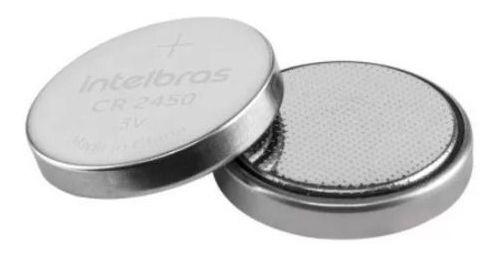 Bateria De Litio 3v Cr 2450 Intelbras Blister 5 Unidades
