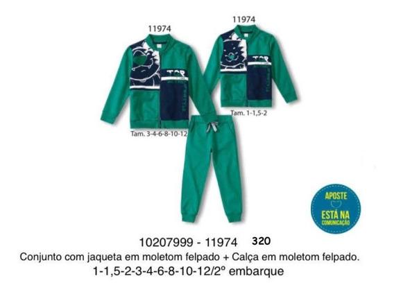 Conjunto Jaqueta E Calça Tigor T Tigre 10207999