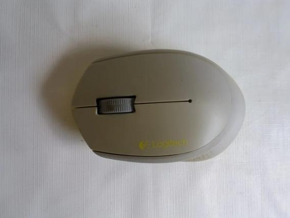 Mouse Óptico Logitech M280 1000 Dpi Sem Fio Cinza Original