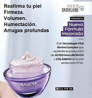 Anew Platinum Crema Facial Antiarrugas Dia Formula Mejorada