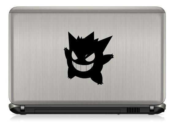 Adesivo Gengar Pokemon Nintendo 3ds Gameboy