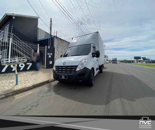 Renault Master 2.3 L2h1 2014 Baú 3.5m = Iveco Daily Vw Mb