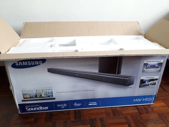 * Barra De Sonido Samsung Hw-h550z Inalámbrica Bluetooth D *