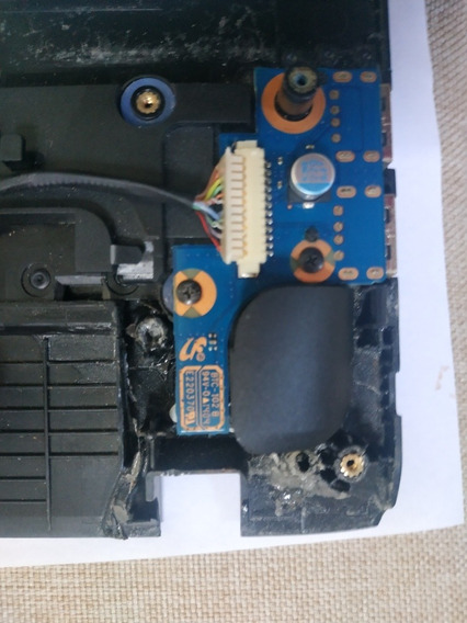 Botão Power Notebook Samsung Np275e4e Np270e4e