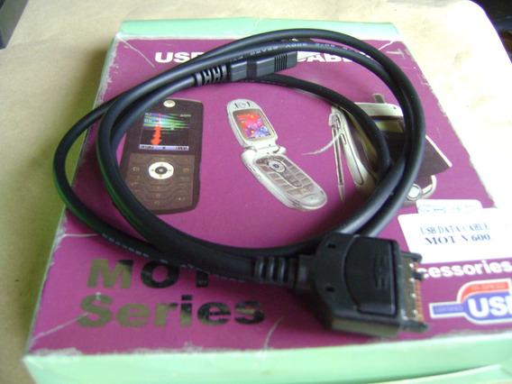 Usb Data Cable Mot V 600 Y Mobile Pt 3 Windows