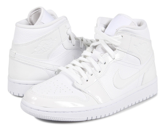 Air Jordan Retro 1 Mid White