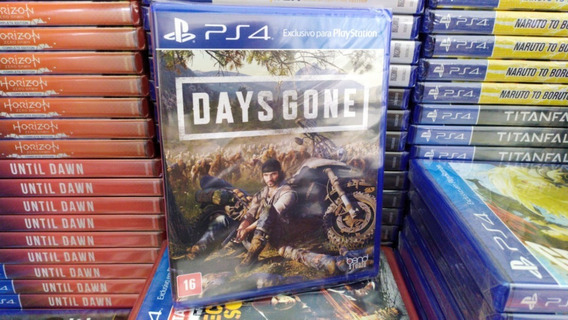 Days Gone Ps4 Mídia Física - Lacrado - Português - Original