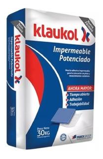 Pegamento Klaukol Impermeable Potenciado X 30 Kg