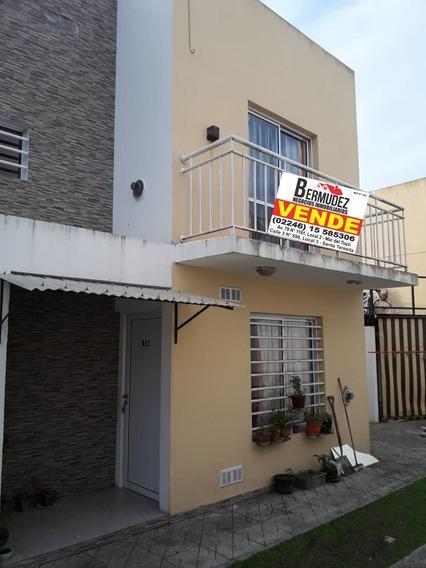 Venta Duplex En Santa Teresita C/gas Nat. Excelente Zona!