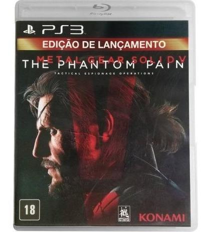 Metal Gear Solid V The Phantom Pain Ps3 Mídia Física