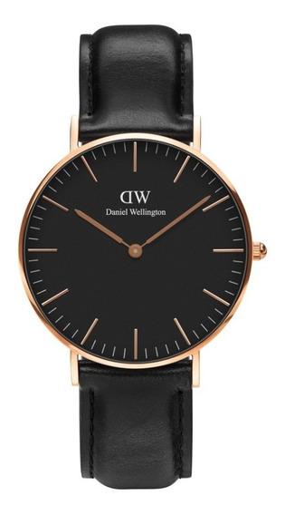 Reloj Unisex Daniel Wellington Classic 36 Sheffield Rg Black