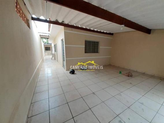 Casa Com 2 Dormitórios Para Alugar, 90 M² Por R$ 1.000/mês - Parque São Jerônimo - Americana/sp - Ca2339