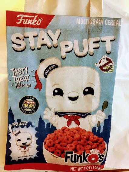 Tote Bag Funko-marshmallow Puft. Ghostbusters-purpura
