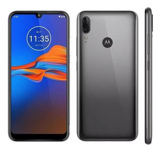 Celular Motorola Moto E6 Plus 32gb Cinza Metálico 13mp+2mp