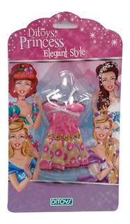 Ropa Fashion Para Muñecas Princesas (celeste) (5605)