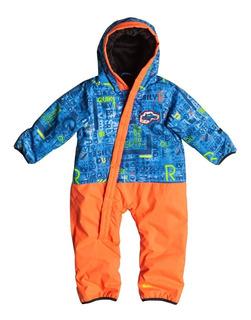Enterito Bebe Rockie Quiksilver Impermeable Con Abrigo Ski