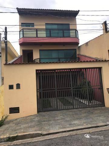 Sobrado Com 3 Dormitórios À Venda Por R$ 1.100.000,00 - Taboão - São Bernardo Do Campo/sp - So0249