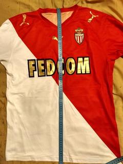 Camisa Do Monaco, Tam M, Usada, Mod 2008, Ler Anúncio