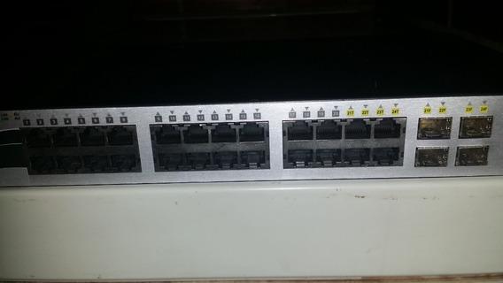 Rauter D- Link Multiplicador De Internet 24 Puertos.