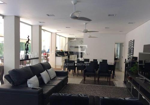 Casa Com 5 Dormitórios À Venda, 370 M² Por R$ 1.899.900 - Enseada - Guarujá/sp - Ca2544