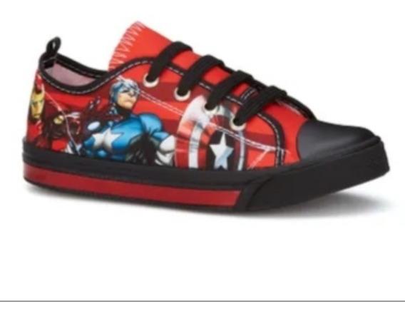 Oferta Tenis Ferrato Infantil Avengers 7719 Textil