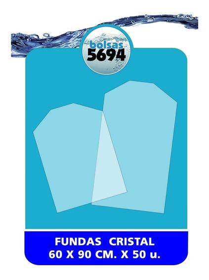 Bolsas Fundas Ropa Polietileno Cristal 60 X 90 Cm X 50 U