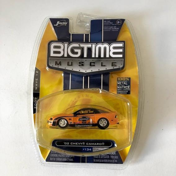 Miniatura Chevy Camaro 02 Jada Toys Bigtime Muscle Raro #134