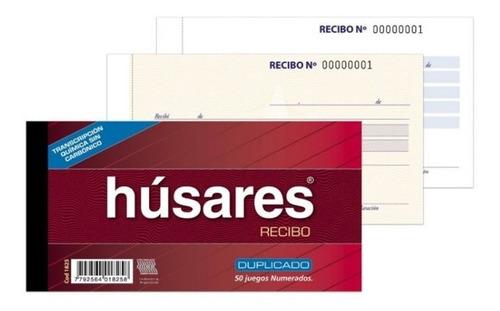 Imagen 1 de 1 de Talonario Recibo Duplicado Quimico Husares