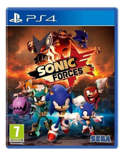 Imagen 1 de 4 de Sonic Forces - Ps4 Físico Nuevo Y Sellado