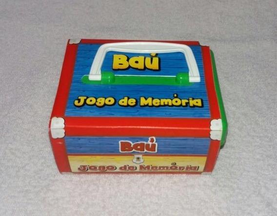 Memoria Educativo - Baú Jogo De Memória