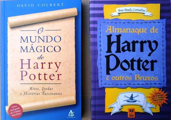 Box 2 Livro O Mundo Mágico Harry / Almanaque Harry Potter