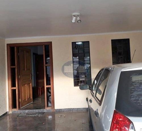 Imagem 1 de 18 de Casa Com 3 Dormitórios, 145 M² - Venda Por R$ 400.000,00 Ou Aluguel Por R$ 1.500,00/mês - Paraíso - Araçatuba/sp - Ca1835