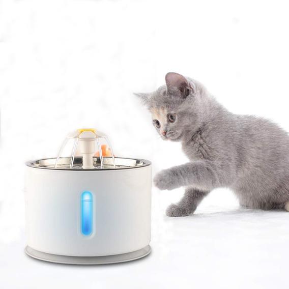 2.4l Fuente Automático Bebederos Para Gatos Perro