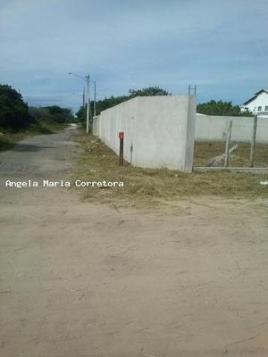 Terreno Para Venda Em Rio Das Ostras, Enseada Das Gaivotas - Amc2412
