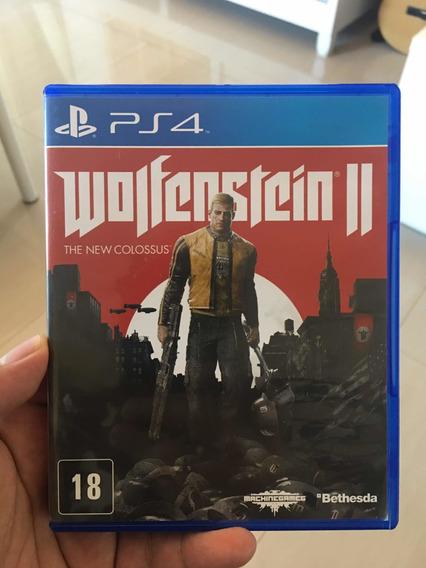 Wolfenstein The New Colossus Para Ps4