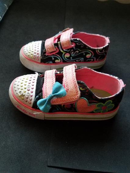 Zapatillas Skechers Luces Nena