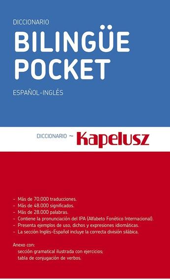 Kapelusz Diccionario Bilingüe Pocket