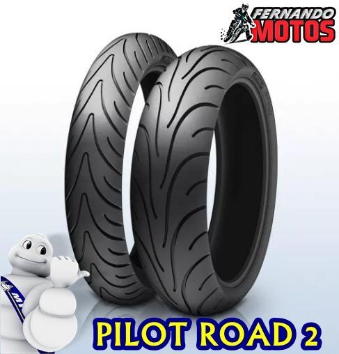 Par Pneu 120/70-17 + 180/55-17 Michelin Pilot Road 2 Radial