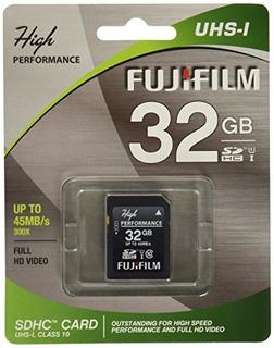 Fujifilm High Performance - Tarjeta De Memoria Flash - 32 Gb