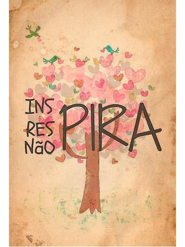 Placa - Quadro - Decorativo - Ins, Res,não Pira! - (v183)