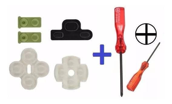 Kit Controle Ps3 - Borrachas + Chave X - Frete R$ 10,99
