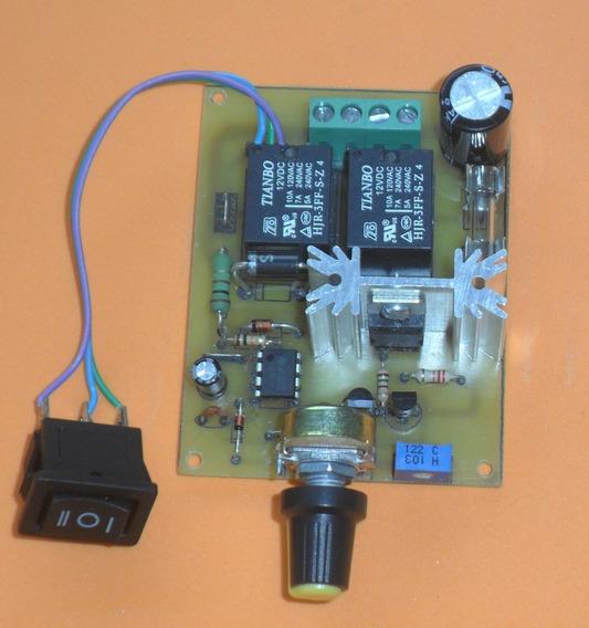 2placas Controladora Pwm Para Motor Dc 24v 10 A Com Inversão