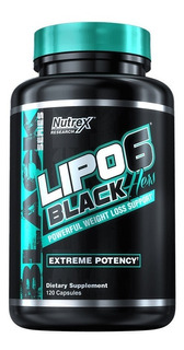 Lipo 6 Hers (feminino) 60 Cap (importado) - Nutrex