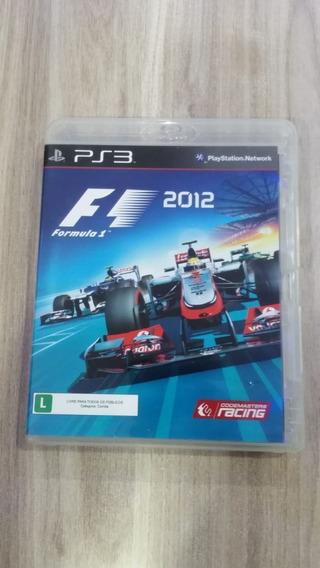 Formula 1 2012 Playstation 3 Original